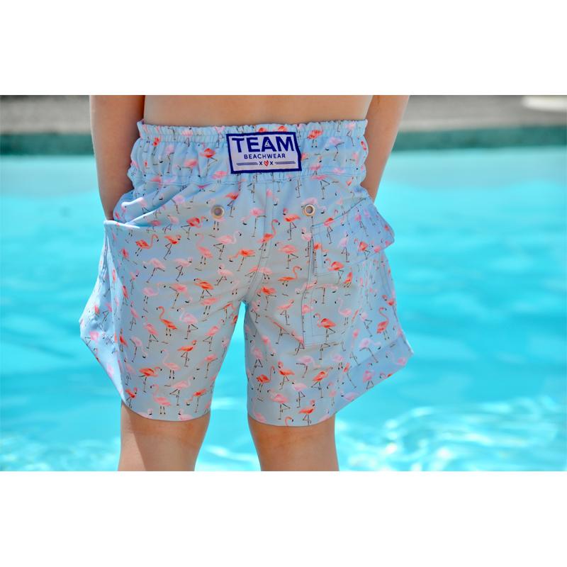 a8ddfc53d2 Home / Store / Matching / Flamingo Print / Boys Swim Shorts – Flamingo